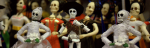 Skeletons mexican dolls