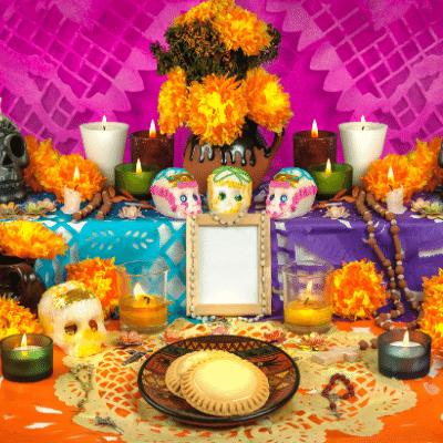 El llenguatge de les nostres inlingua Andorra blogpost mexican altar day of the dead