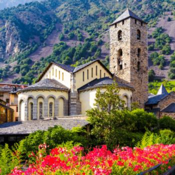 Andorra plaça del poble