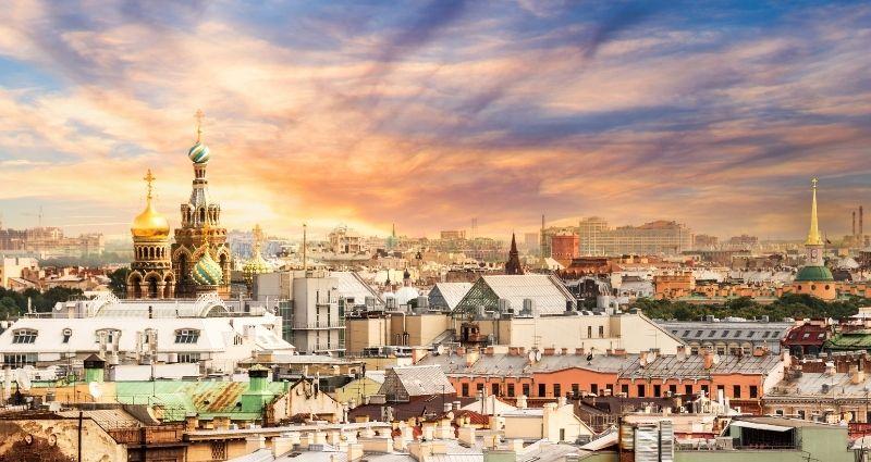 Russia Blog - Header skyline of Russian city